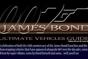 The James Bond Ultimate Vehicles Guide is Drool-Worthy