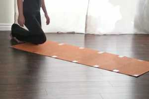 The Nadi Yoga Mats Will Roll Without a Hitch