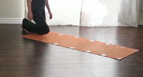 Magnetized Exercise Mats - The Nadi Yoga Mats Will Roll Without a Hitch