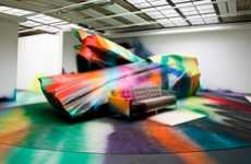 Kaleidoscopic Graffiti Exhibits