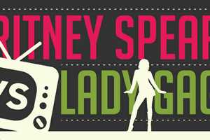 The Britney Spears vs. Lady Gaga Infograph Looks at Total Factors