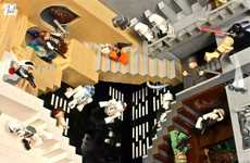 Weightless LEGO Recreations - The Paul Vermeesch Diorama Pays Homage to Artist M.C. Esher