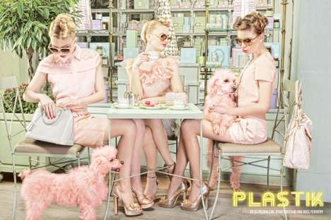 Pastry Shop Photoshoots - The PLASTIK Magazine 'The Spring Ladies Club' Editorial is Sinfully Sweet
