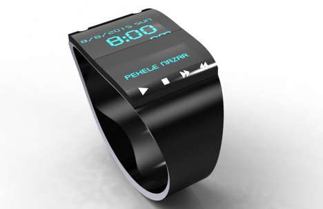 music watch with usb