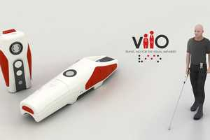 The Viio Travel Aid Turns the Walking Stick into a Turn-By-Turn Nav Unit
