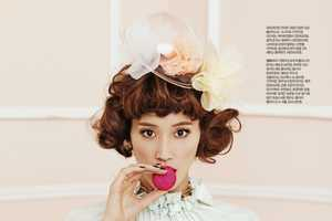 The Singles Korea 'The Dessert Lady' Editorial is Culinary