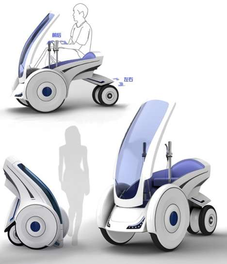 folding electric vehicle