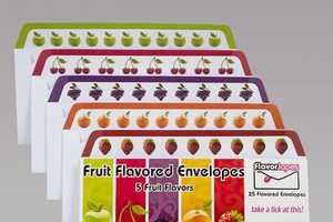 Flavorlopes Makes Sealing Letters Fun and Fruity