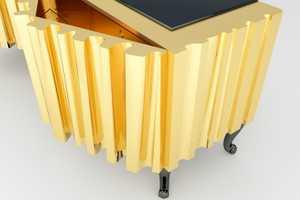 The Meikstudio Opera Sideboard Phantom is Eye-Catching