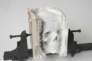 The Maskull Lasserre Incarnate Sculpture Transforms Textbooks