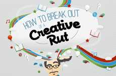 Mind Stimulant Charts - The 'How to be Creative' Infographic Encourages Mistakes and Play