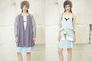 The Balenciaga Resort 2013 Collection Channels the Deep Blue Sea