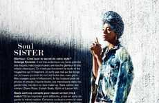 Soul Sister Fashion - The Glamour France 'La Diva du Mix' Editorial Stars Solange Knowles