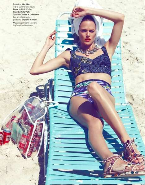 ELLE France Sea Beaux Sea Stars