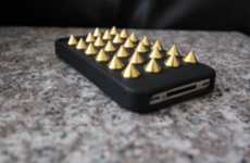 Seriously Studded iPhone Covers - The Felony Case Gives Your Phone a Sharp Look