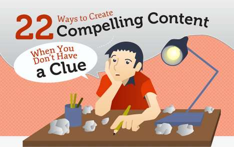creating compelling content infograph