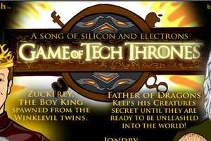 The 'Game of Tech Thrones' Cartoon Gives Hilarious Personalities