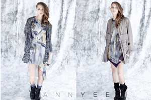 The Ann Yee Fall/Winter 2012 Collection is Icy