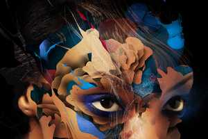 This Adobe Photoshop CS6 Extended Packaging is Psychedelic