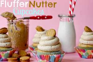 These Fluffer Nutter Cupcakes Deliver a Tempting Taste of Childhood