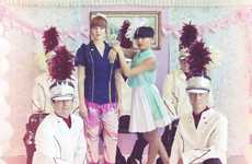 Preppy Marching Band Editorials