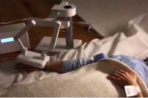 The Last Moment Robot Consoles Dying Patients