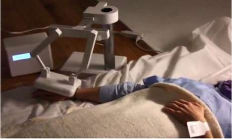 End-Of-Life Comfort Droids - The Last Moment Robot Consoles Dying Patients