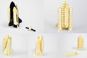 The Paper-Craft Models by Papero are Beautifully Complex