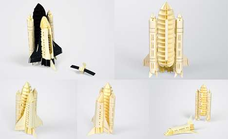 paper craft models by papero