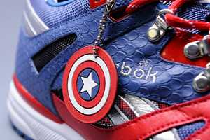 The Reebok x Marvel Sneakers are Full of Graphic Sole