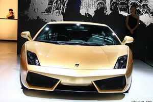 The Lamborghini Gallardo LP560-4 Gold Edition Recently Unveiled