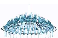 54 Colorfully Chic Chandeliers