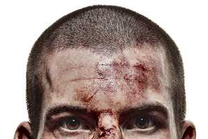 The Sam Faulkner Cage Fighter Photography is Gory