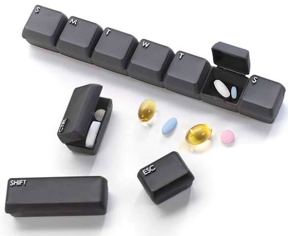 Keyboard Medicine Carriers