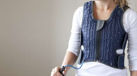 Concealed Therapy Apparel - The Squease Vest Provides a Discreet Hug for Autistic People in Need