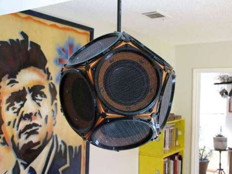 Spherical Sound Systems - The Dodecahedron Speaker is a DIY 3D-Printed Project