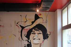 Andrea Michaelsson Stencil Art Has Old School Glamour
