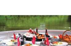 Buoyant Watercraft BBQs