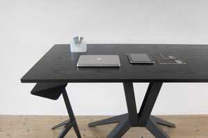 The Matej Chabera 'Set 02' Table and Stool Promotes Speakin