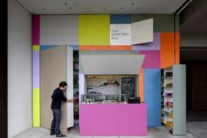 Alan Chu Creates a Color-Popped Storefront for the Gourmet Tea
