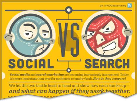 social vs search infograph