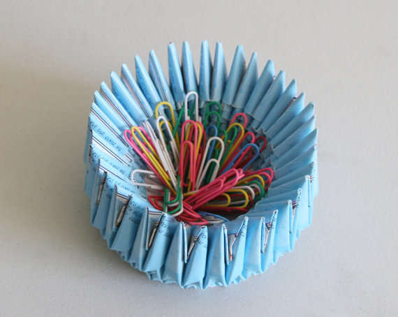 Porcupine Origami Dishes