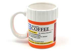 The Prescription Coffee Mug Gives You Your Daily Dose of Caffeine