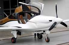 Four-Seater Electric Airplanes - The Panthera by Pipstrel is Eco-Friendly and Sleek