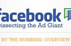 Social Media Advertising Graphics - The 'Facebook: Dissecting the Ad Giant' Infograph is