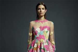 The Valentino Resort 2013 Collection is Like Jumping in a Flower Frenzy