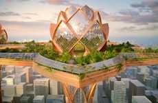 Lotus-Inspired Skyscrapers