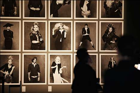 Historic-Style Salon Showings - The CHANEL 'Little Black Jacket' Exhibition is Timeless