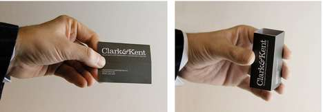 clarkkent business cards