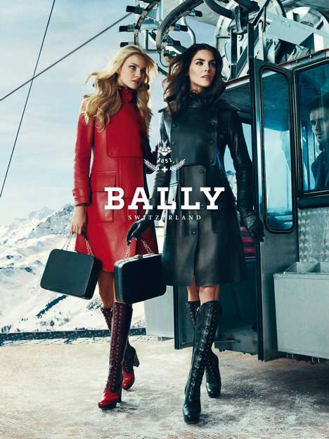 Bally Fall 2012 campaign